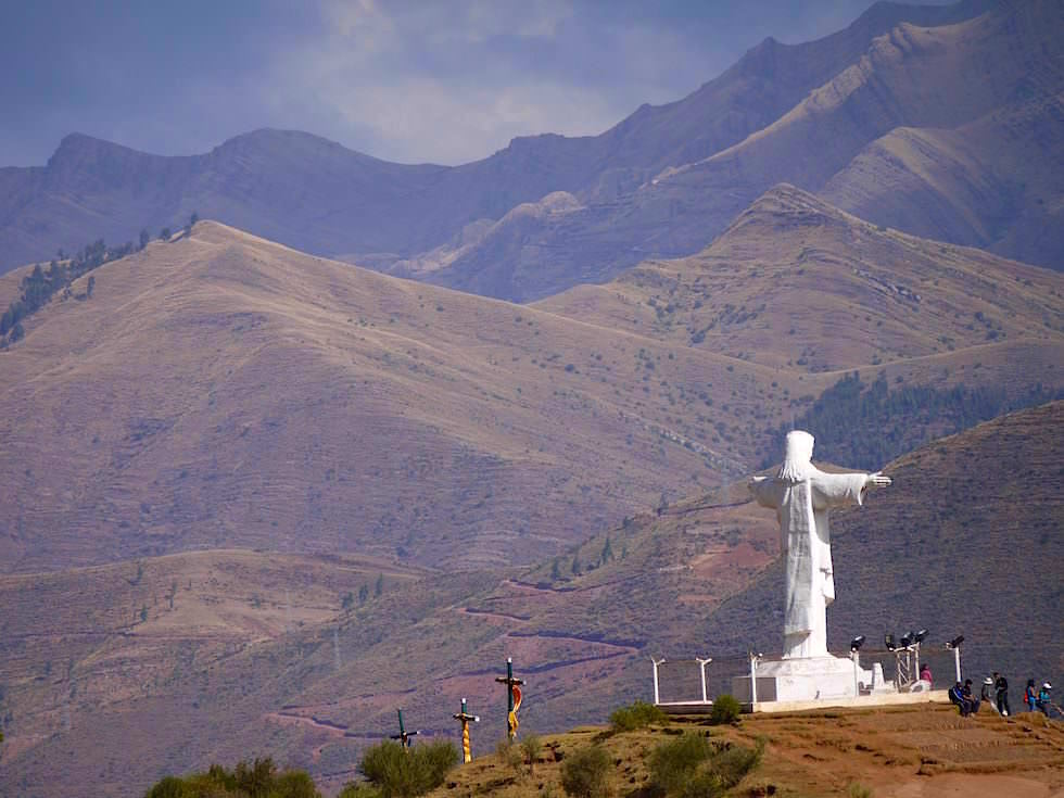 Cristo Blanco - Cusco Highlights - Peru