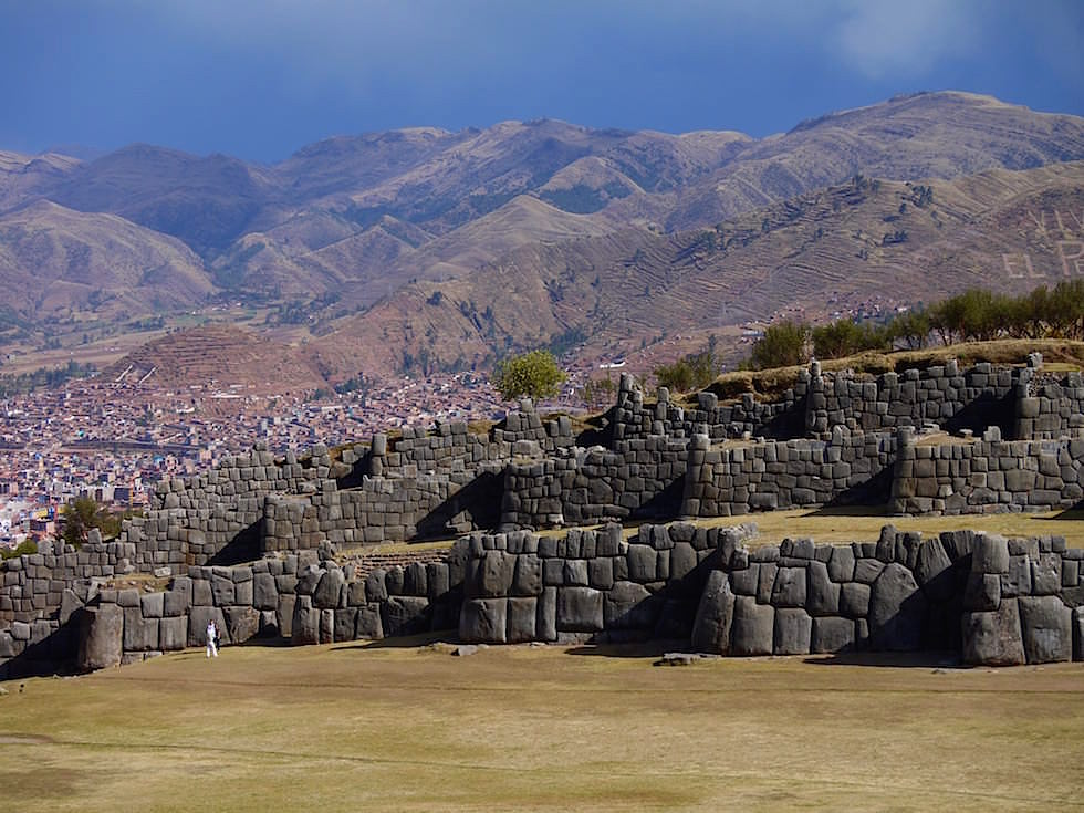 Festungsmauern Saqsaywaman - Cusco Highlights - Peru