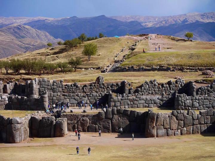 Saqsaywaman: Faszinierende & weltberühmt Inkastätte mit grandiosen Blick auf Cusco - Highlight von Cuso - Peru