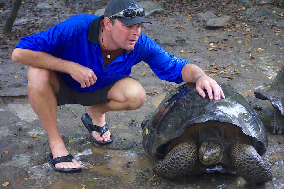 Galapaguera Aufzucht Riesenschildkröten - Galapagos San Cristobal