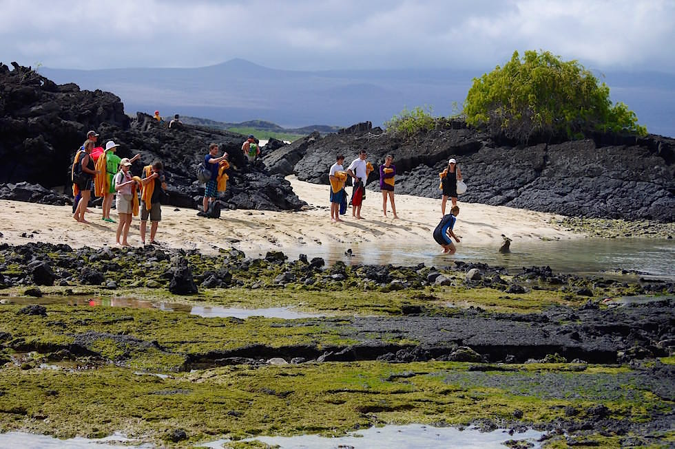 Cerro Brujo - Galapagos San Cristobal