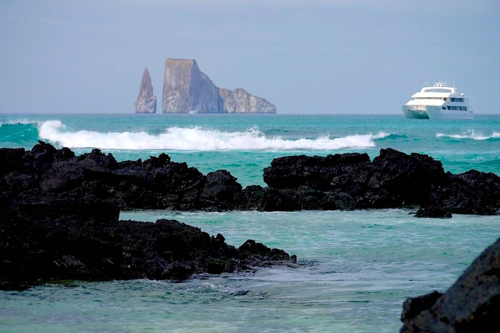 León Dormido oder Kicker Rock - Cerro Brujo - Galapagos San Cristobal
