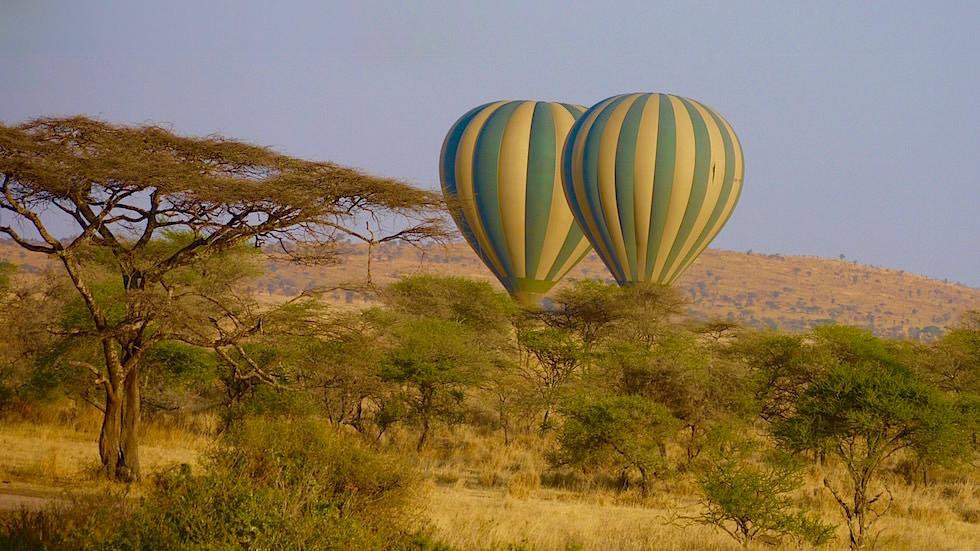 Ballonfahrt - Serengeti National Park - Tanzania