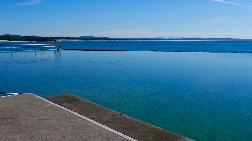 Pool Beach Forster - Forster Tuncurry - Great Lakes New South Wales