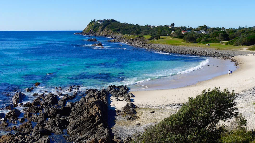Pebbly Beach in Forster - Forster Tuncurry - Great Lakes New South Wales