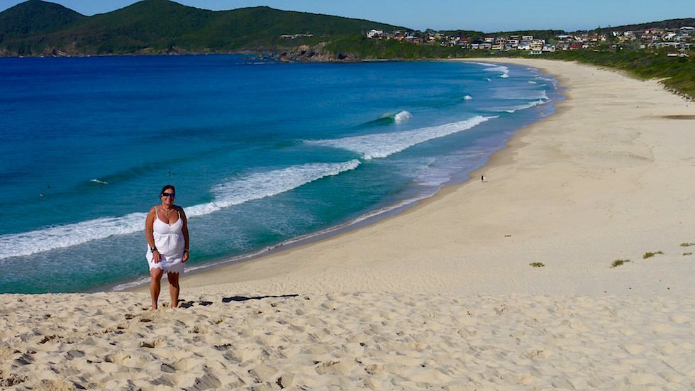 Strand beim Bennetts Head in Forster - Forster Tuncurry - Great Lakes New South Wales