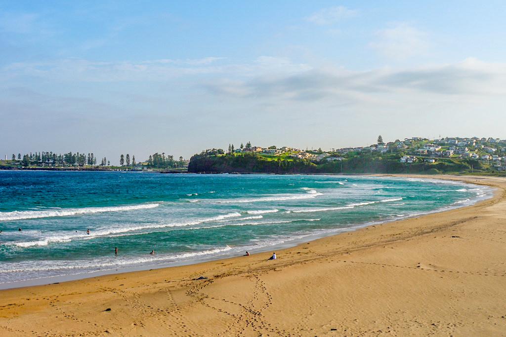 Bombo Beach: der schönste Ausblick auf Kiama & einer der schönsten Strände von Kiama - New South Wales