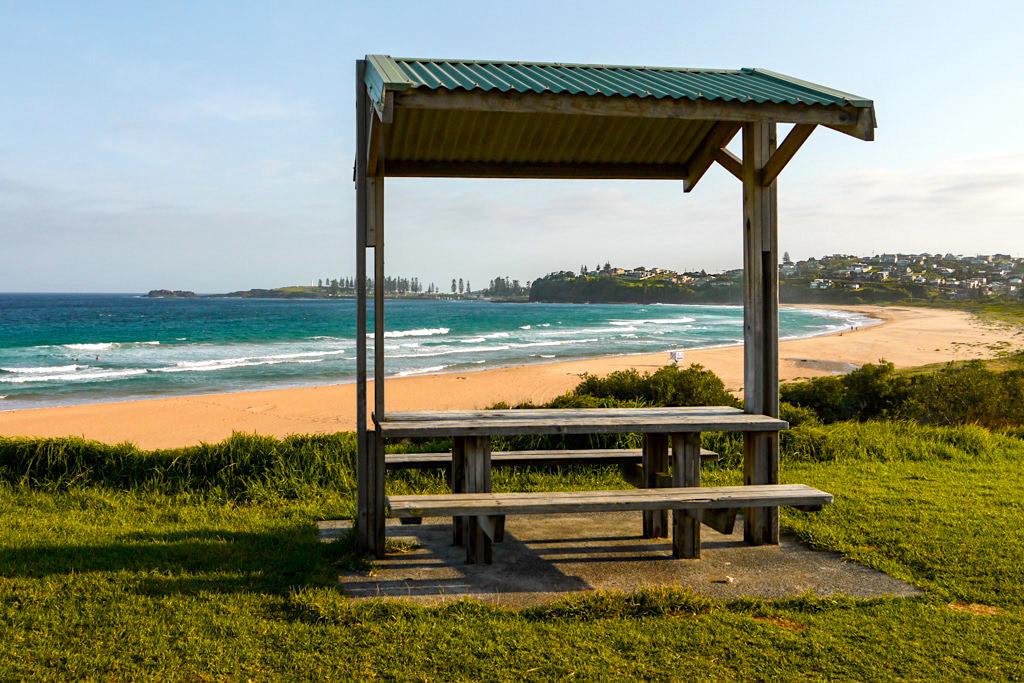 Bombo Beach - Picknick, BBQ, Strände, Surfen & schönste Ausblicke auf Kiama - New South Wales