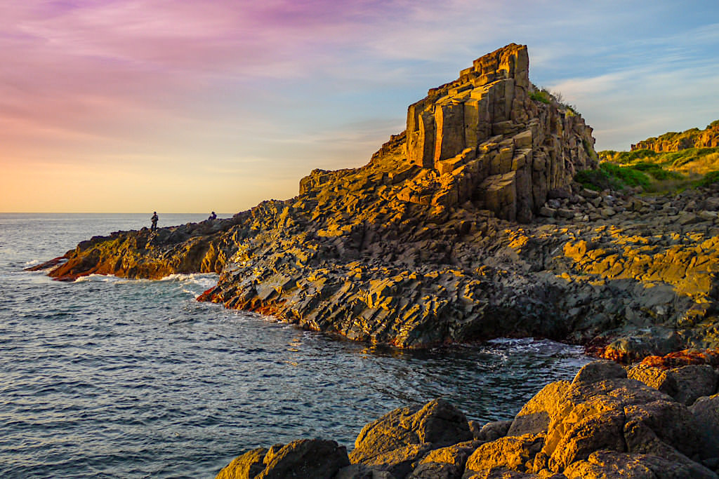 Bombo Quarry bei Sonnenaufgang - Kiama Highlights - New South Wales