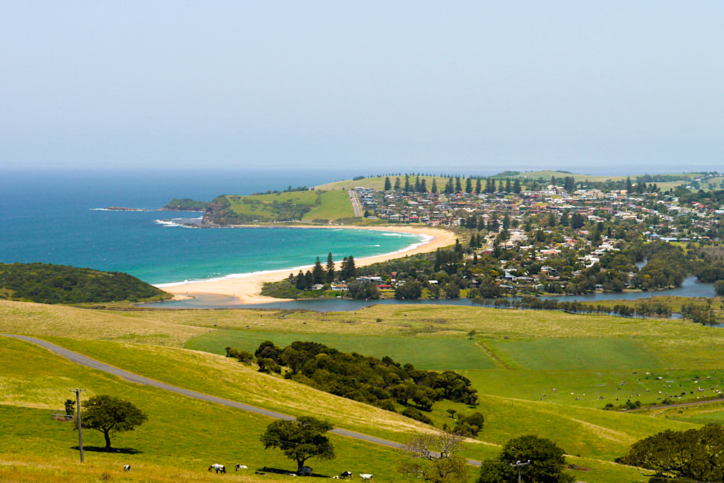 Geringong & Werri River - Wandern auf dem wunderschön angelegten Kiama Coast Walk - New South Wales