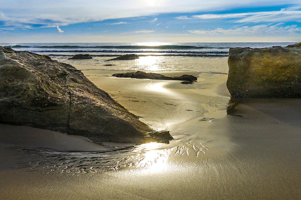 Weit, schön & einsam: Jones Beach bei Kiama Downs - Kiama Highlights - New South Wales