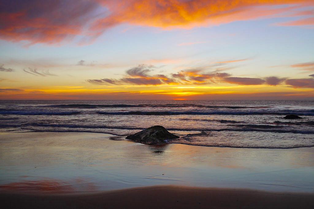 Jones Beach & seine grandiosen Sonnenaufgänge - Kiama Downs, New South Wales