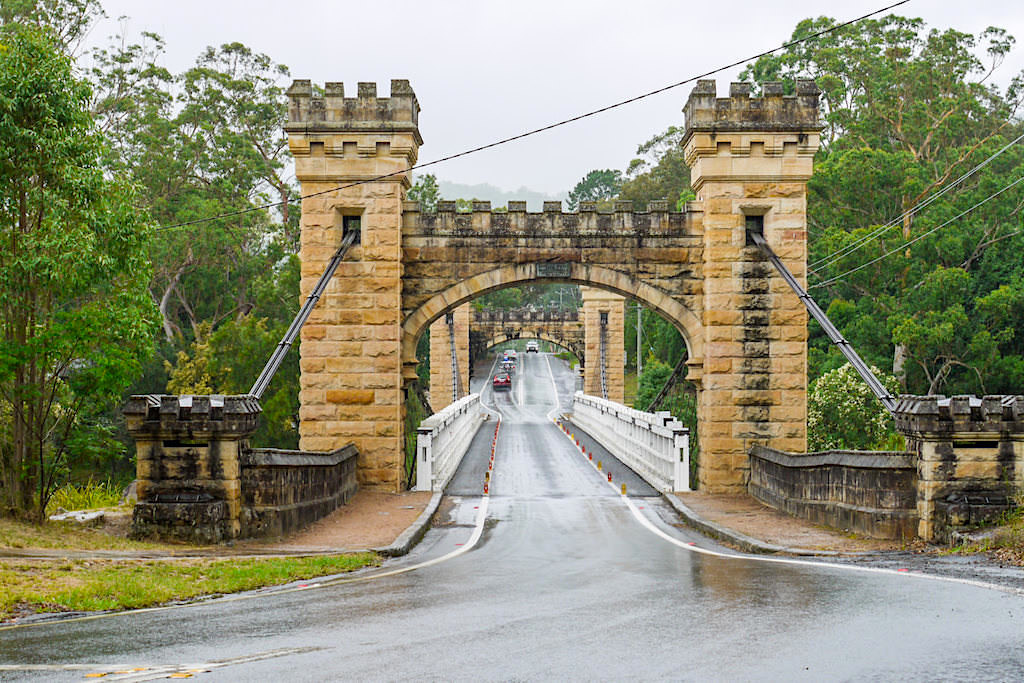 Kangaroo Valley & seine berühmte Hampton Bridge - Highlights im Hinterland von Kiama - New South Wales