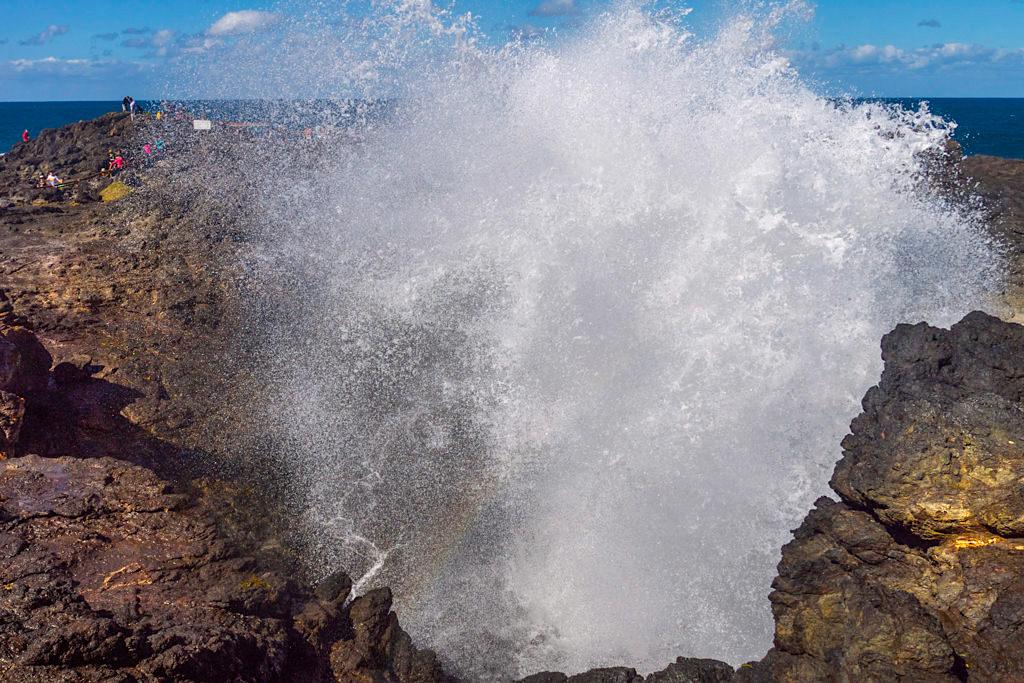Das gigantische Kiama Blowhole ist ein beliebter Tagesausflug von Sydney - New South Wales