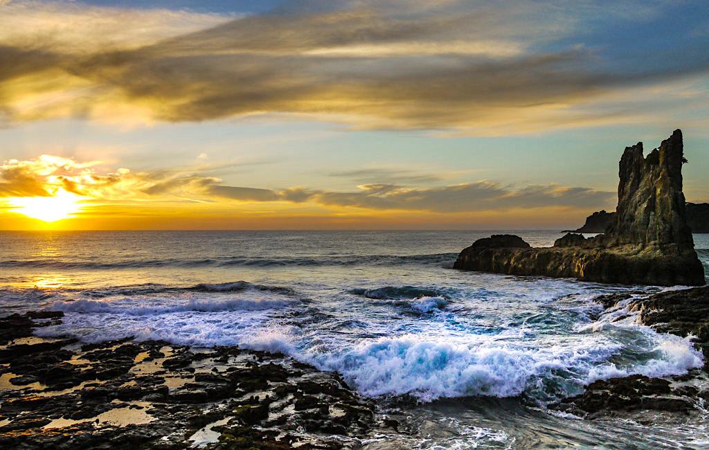 Kiama Geheimtipp: Cathedral Rocks mit seiner grandiosen Atmosphäre bei Sonnenaufgang - New South Wales