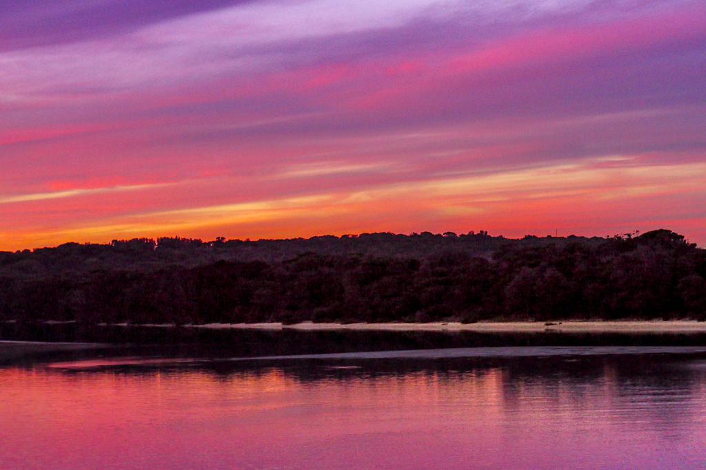 Kiama Coast Walk - Awesome view of Minnamurra at sunset - New South Wales