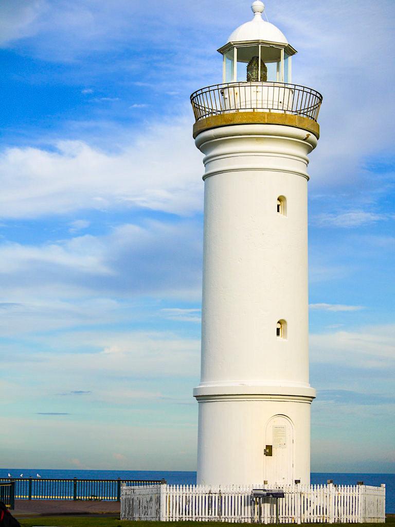 Der Kiama Leuchtturm befindet sich direkt bei dem Kiama Blowhole - New South Wales