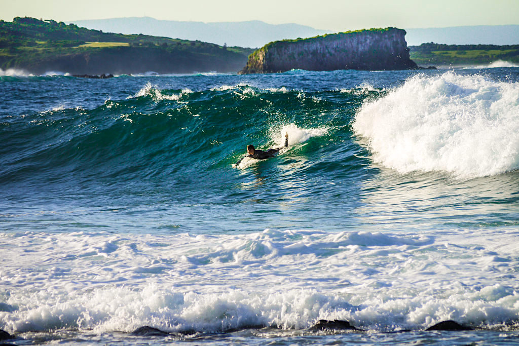 Kiama ist ein Surferparadies im Süden von Sydney - New South Wales