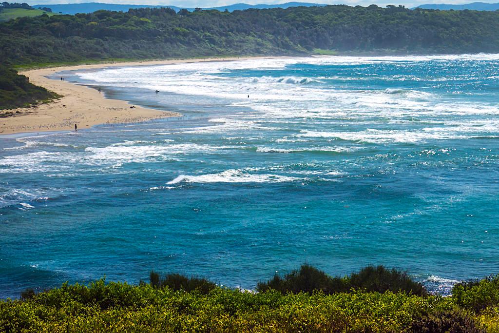 Minnamurra Mystics Beach: einer der schönsten Strände nördlich von Kiama - New South Wales