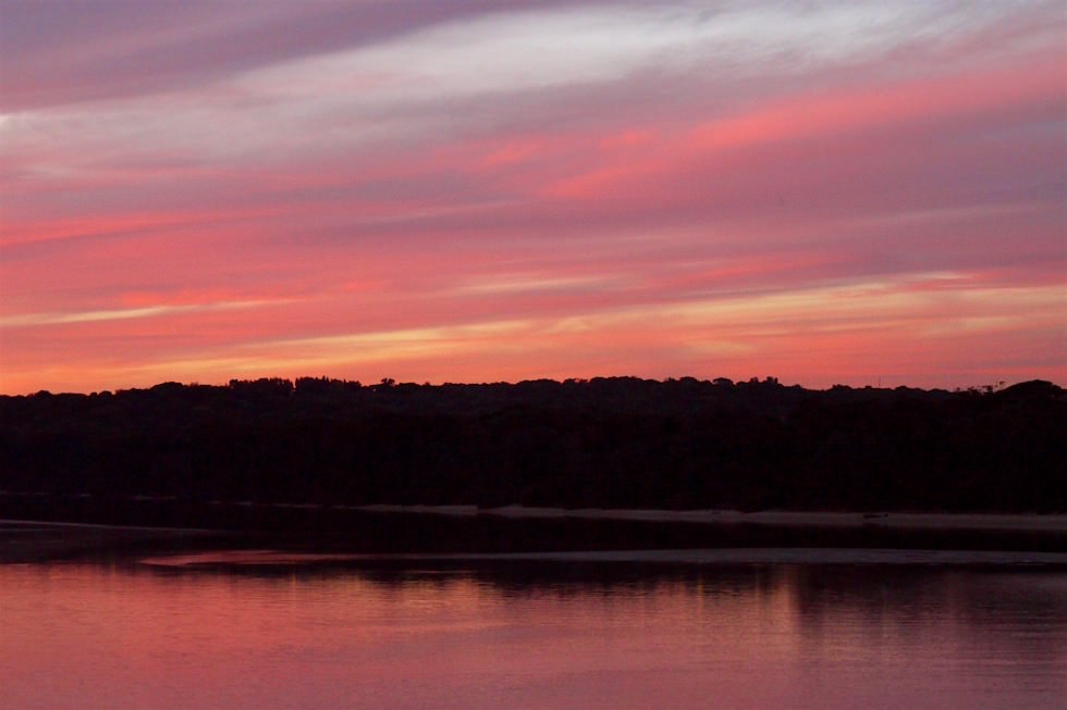 Sonnenuntergang Minnamurra River - Illawara - NSW