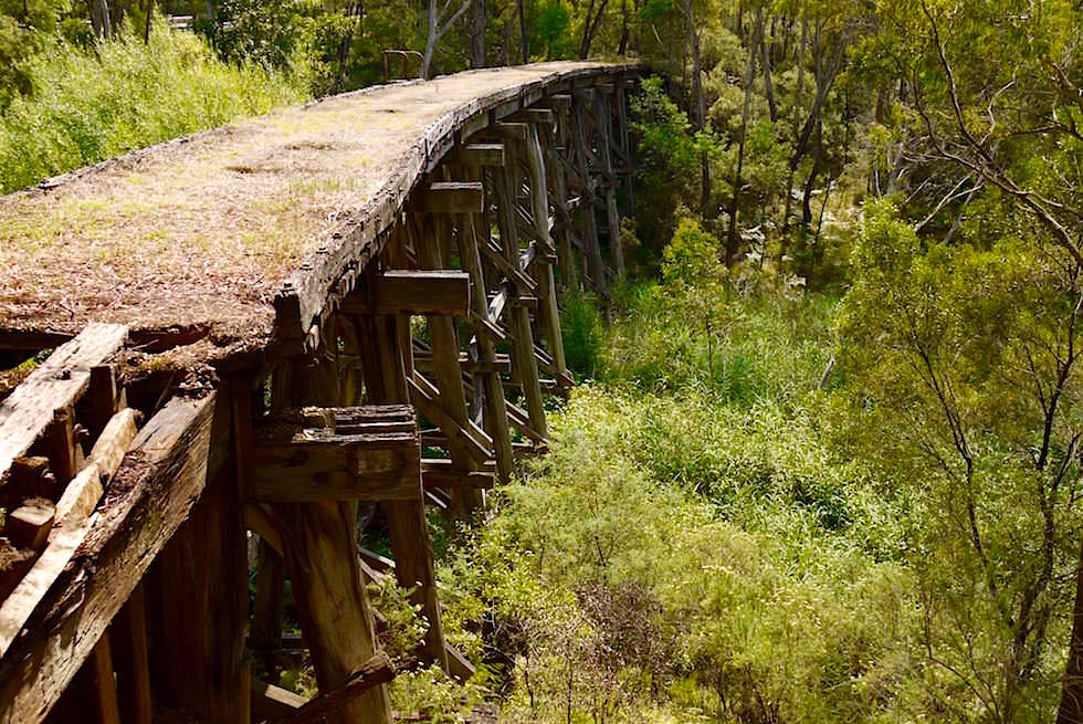 Trestle Bridge - Murray Valley - Victoria