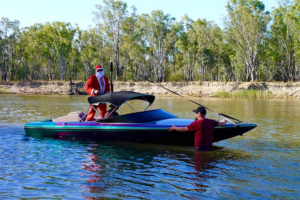 Weihnachten am Murray River - Tocumwal - New South Wales
