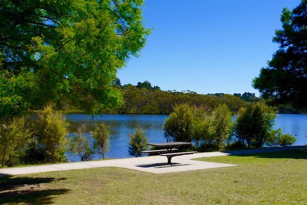 Lake Wentworth Falls - Blue Mountains - NSW