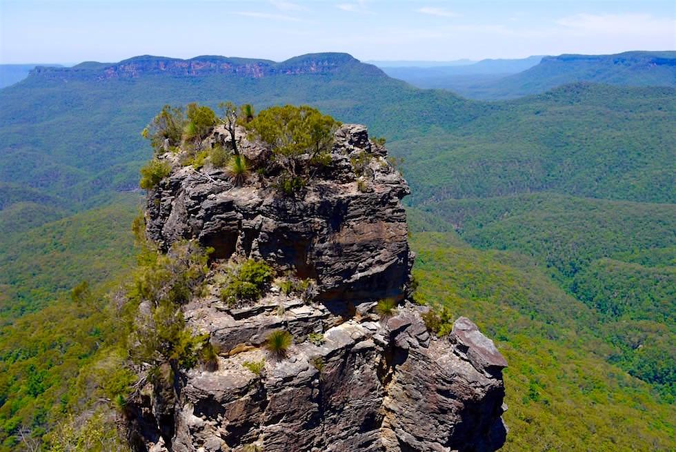 Blick auf einen der Three Sisters Blue Mountains - NSW