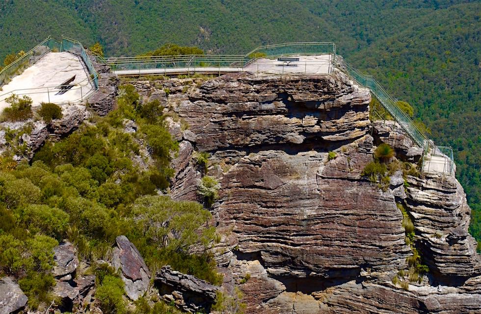 Blick auf den Pulpit Lookout - Blue Mountains - NSW