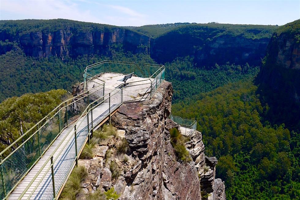 Der schönste Lookout in den Blue Mountains: Pulpit Lookout - NSW