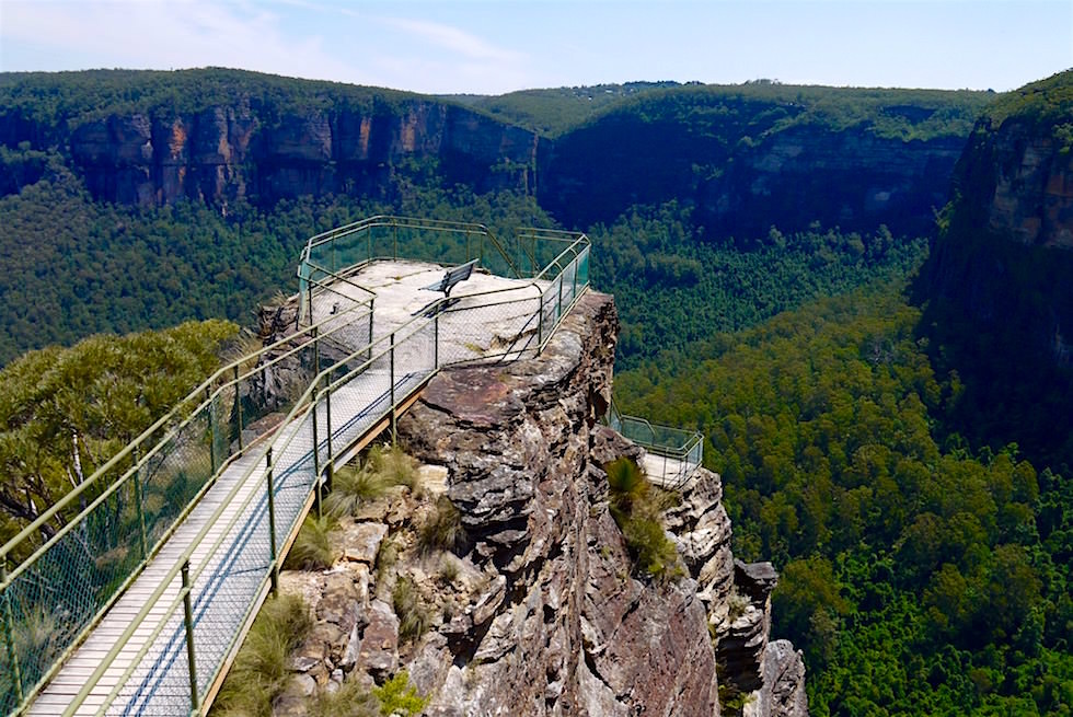 Der schönste Lookout in den Blue Mountains: Pulpit Lookout - NSW