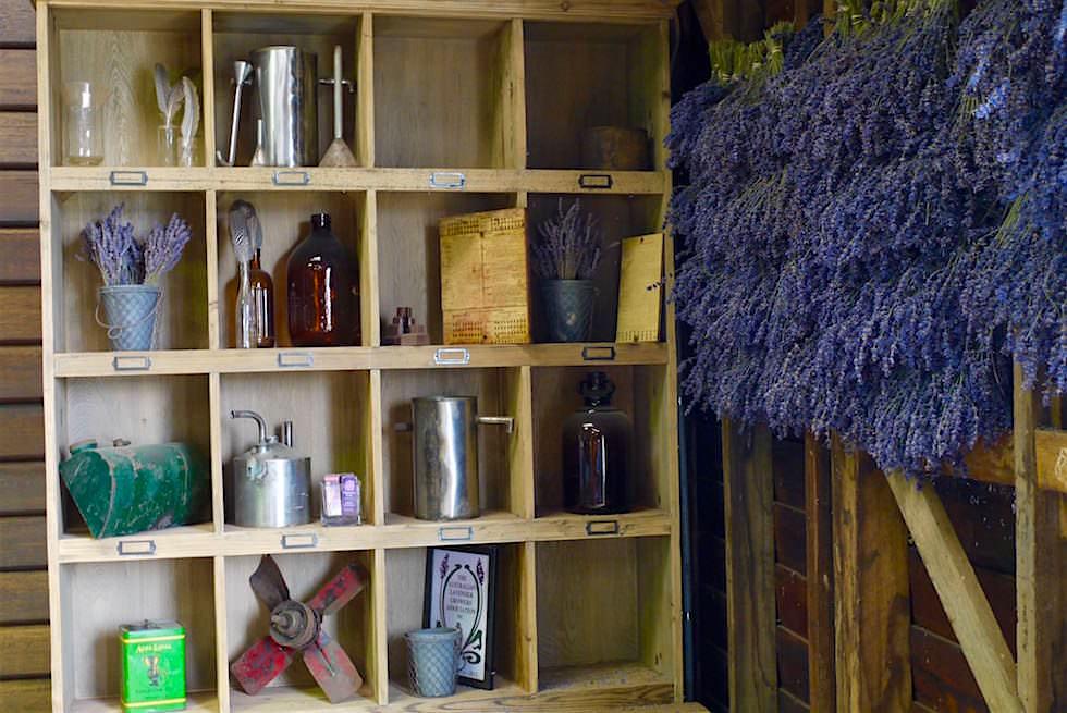 Utensilien - Bridestowe Lavender Farm - Tasmania