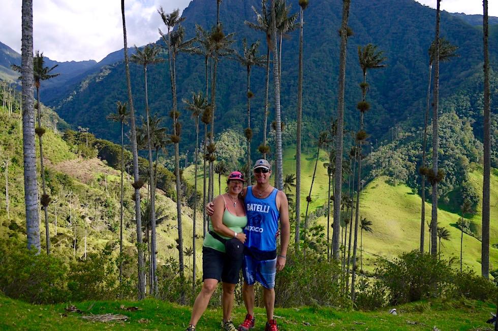 Valle del Cocora Wanderung - Quindio-Wachspalmen - Salento - Kolumbien