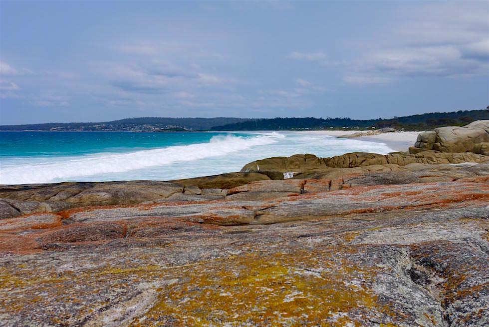 Binalong von Bay of Fires gesehen - Tasmanien