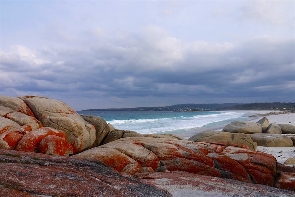 Blick auf Binalong - Bay of Fires - Tasmania