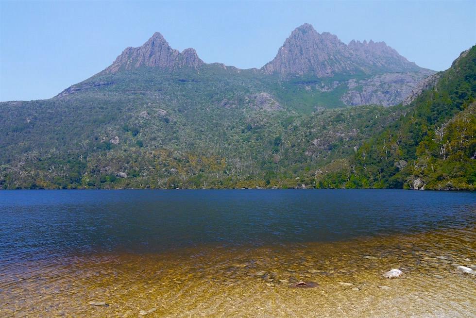Bucht Dove Lake - Cradle Mountain Wanderung - Tasmanien
