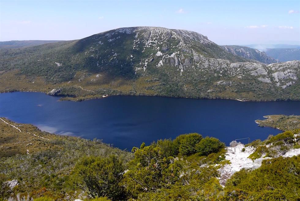 Felskletterei - Marions Lookout - Tasmanien