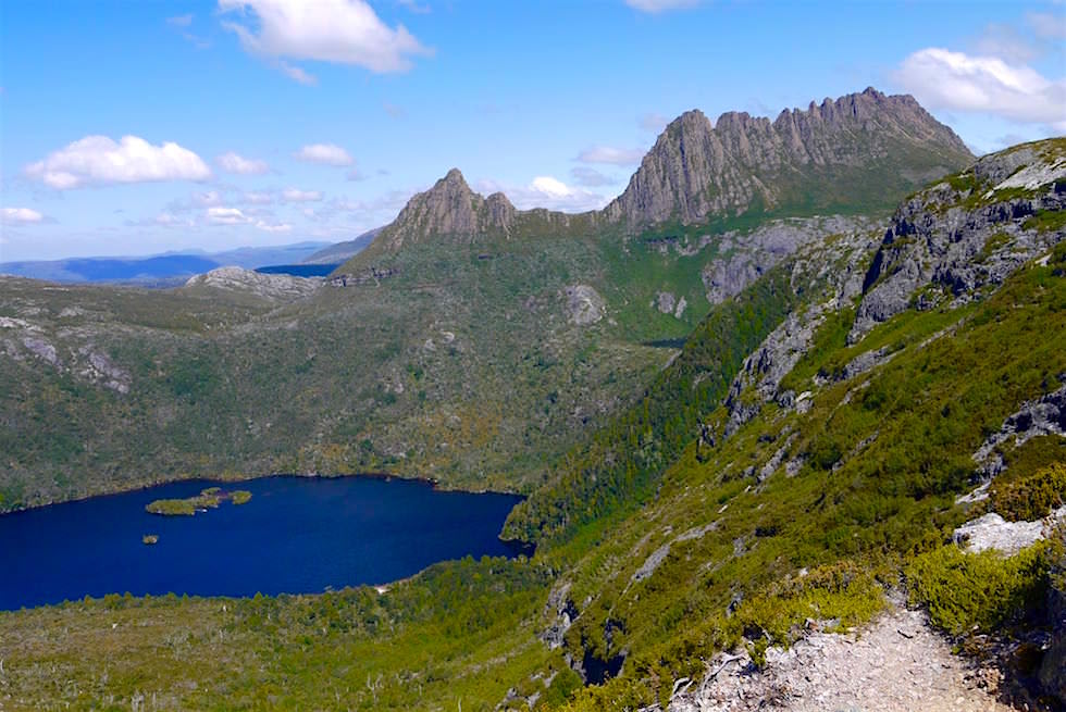 Grandioser Blick auf Cradle Mountain vom Marions Lookout - Tasmanien