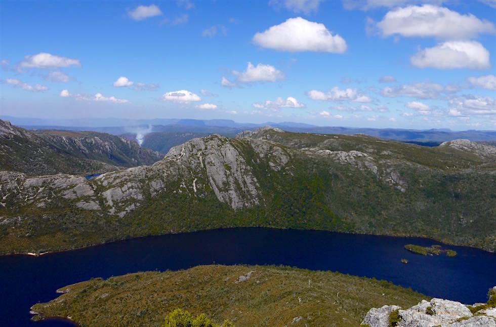 Ausblick Marions Lookout - Cradle Mountain NP - Tasmanien