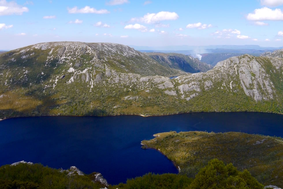 Cradle Mountain Wanderung: Lake Dove von Marions Lookout - Tasmaien