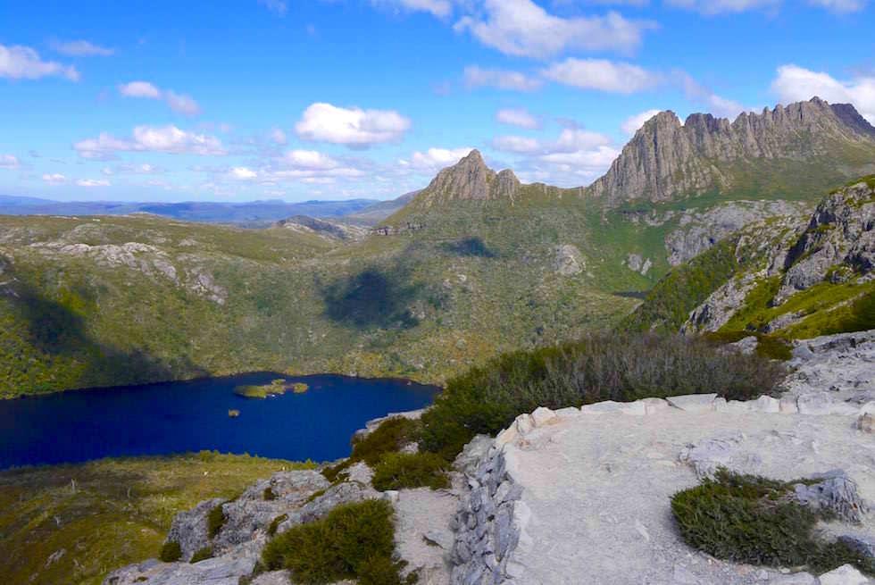 Blick auf Cradle Mountain - Tasmanien