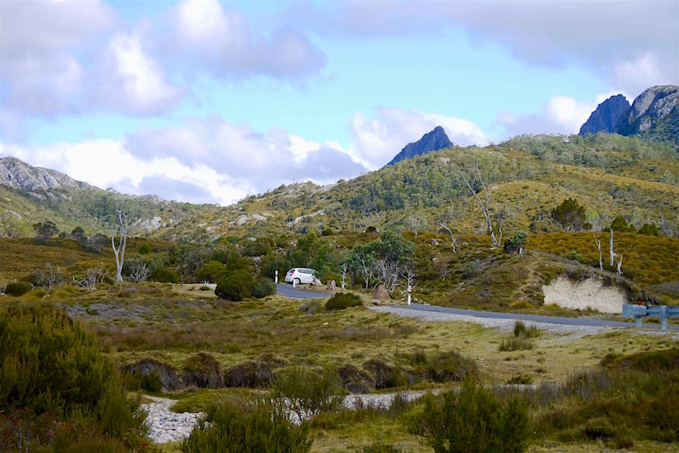 Blick vom Ronny Creek - Cradle Mountain - Tasmanien
