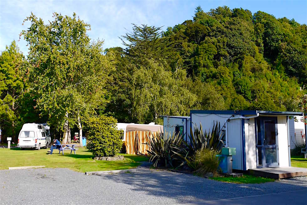 Leith Valley Touring Park - Campingplatz in Dunedin - Neuseeland Südinsel