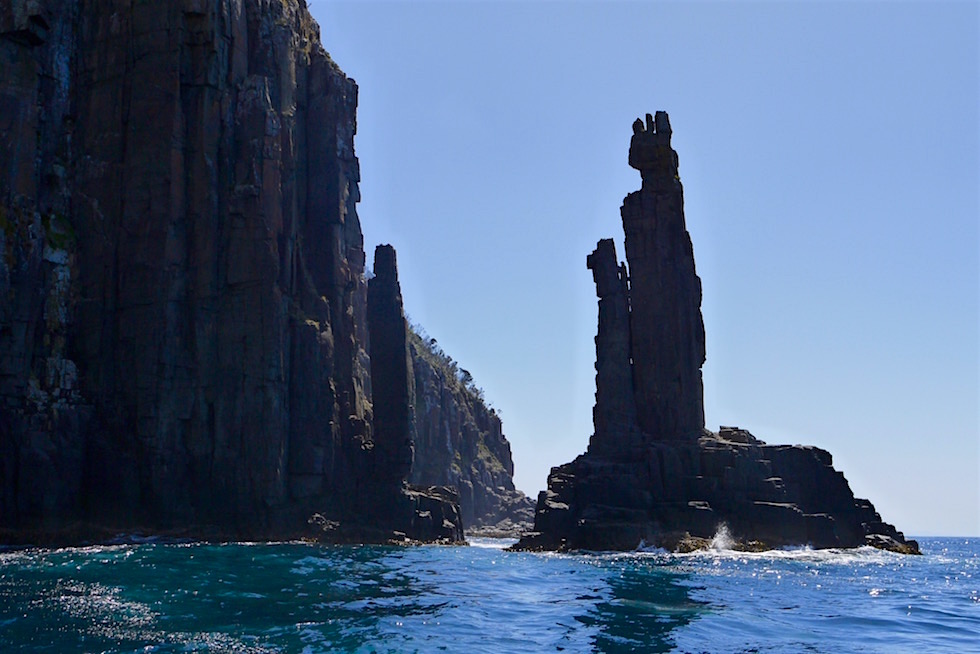 The Monument Felsformation - South Bruny National Park - Tasmanien