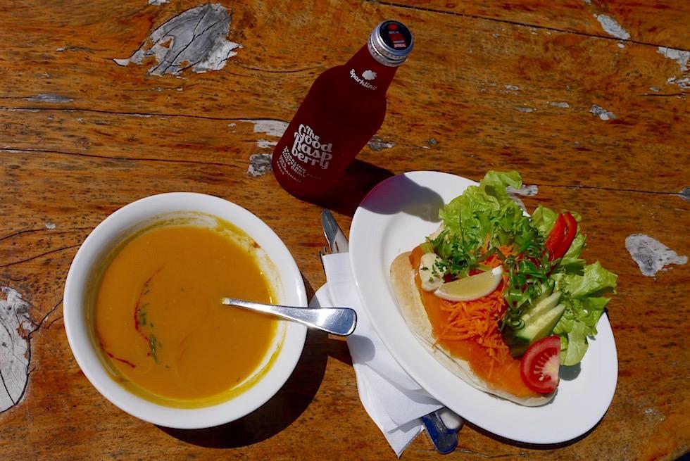 Mittagessen - Bruny Island Cruise - Tasmanien