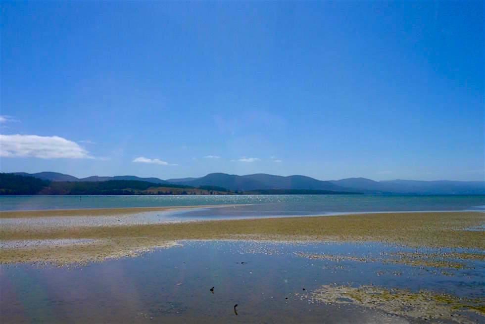 Bruny Island - Strand Ebbe - Tasmanien