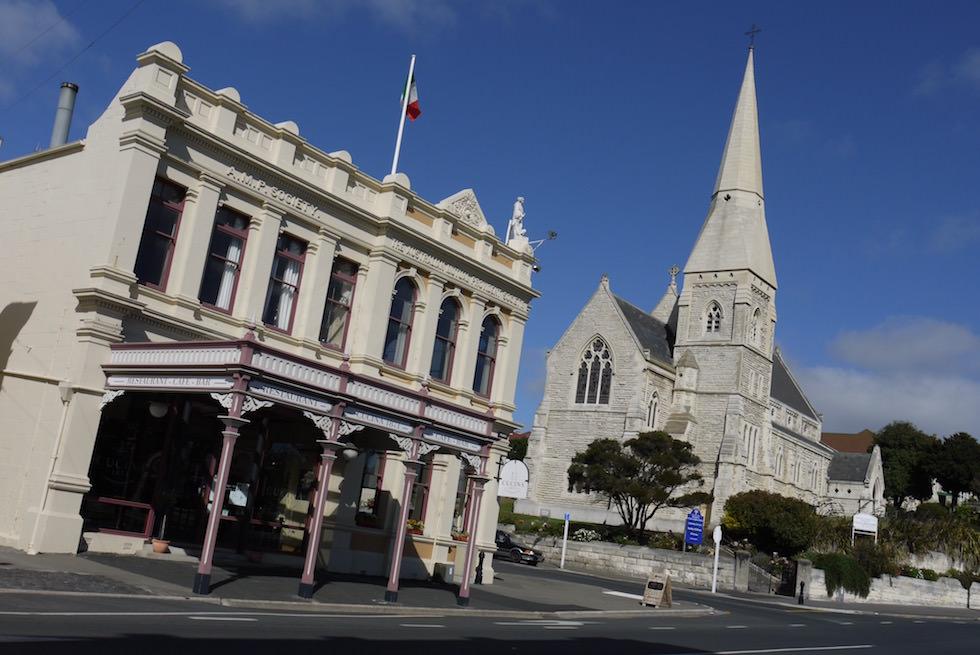 Oamaru - viktorianische Altstadt - Neuseeland Südinsel