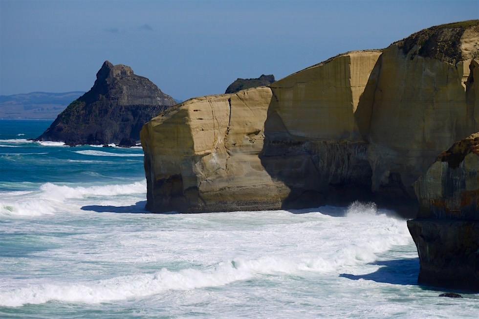 Steilküste Tunnel Beach - Dunedin - Neuseeland