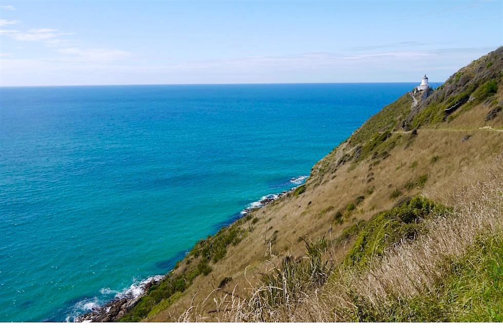 Auf dem Weg zum Nugget Point Lighthouse - Neuseeland Südinsel