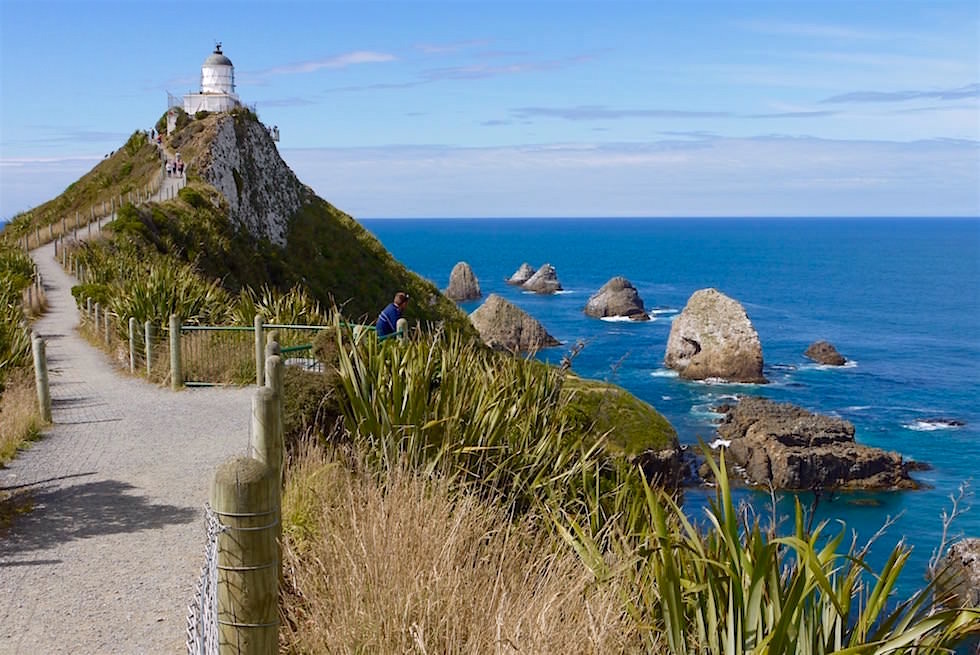 Nugget Point Lighthouse - Neuseeland Südinsel - Southern Scenic Route